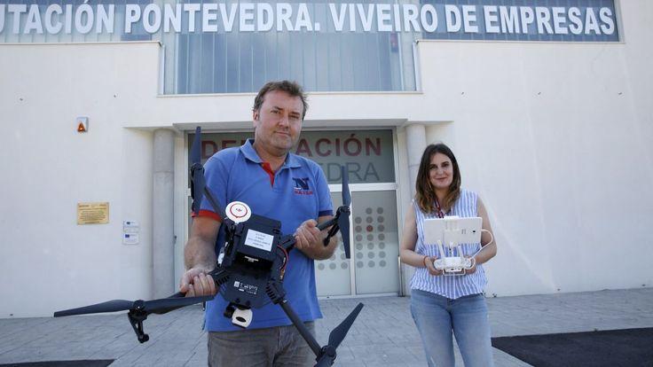 Martín Códax patenta un sistema de teledetección que ofrece una imagen de los cultivos y ayuda a clasificarlos. En el viñedo, por ejemplo, permite saber cuándo hay que vendimiar