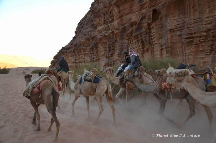 Visiting Jordan's Breathtaking Wadi Rum Desert - Planet Blue Adventure