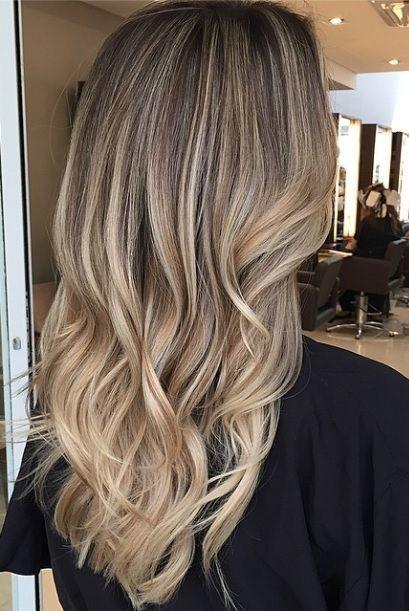 Les 25 Meilleures Id Es De La Cat Gorie Balayage Blond Sur Brune Sur Pinterest Cheveux Ombr