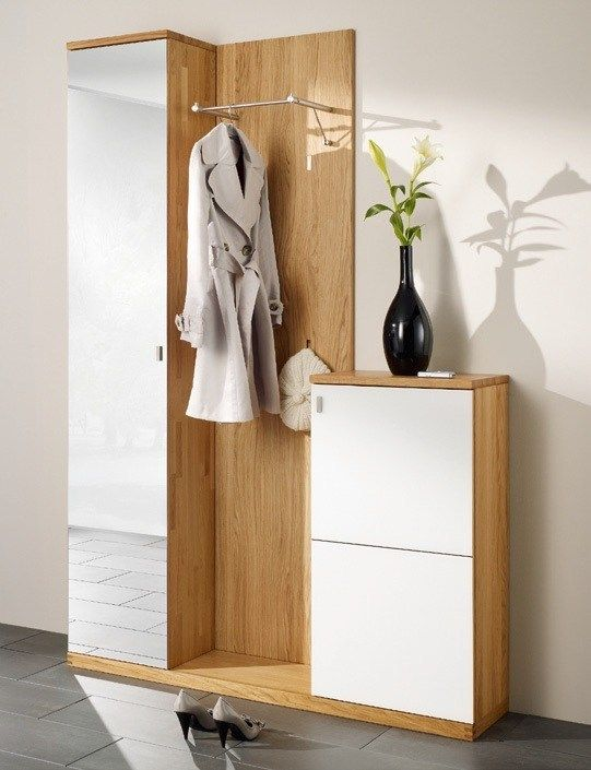 Free standing sectional hallway unit CUBUS Cubus Collection by TEAM 7 Natürlich Wohnen