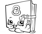 Print Rotary Telephone shopkins season 3 coloring pages
