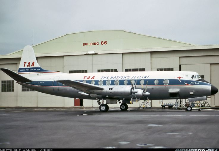 Vickers 816 Viscount - Trans Australia Airlines - TAA | Aviation Photo #4027429 | Airliners.net