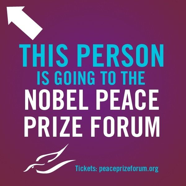 Thrilled to be attending the Nobel Peace Prize Forum in Minneapolis on March 1! Featuring the Dalai Lama and Sister Helen Prejean.