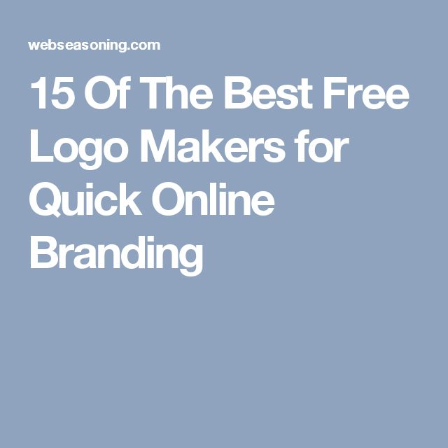 15 Of The Best Free Logo Makers for Quick Online Branding