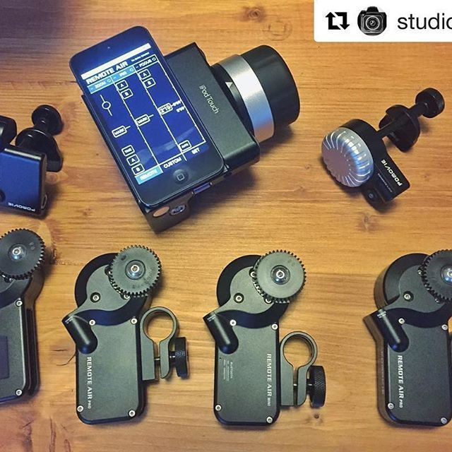 Nice collections! #Repost @studioxprod with @repostapp ・・・ Yess! #pdmovie #wireless #followfocus #wff #remotefocus #remotelive2 #remotelive