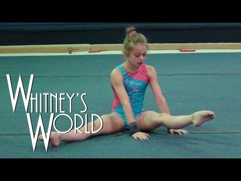 Flexibility Stretches Gymnastics At Home Exercises How To Tutorial & Follow Along Workout Routine - YouTube