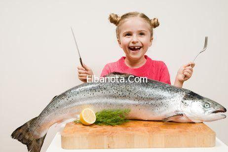 تعرفي على فوائد السمك على الأطفال واضراره « طفولة وأمومة « عالم المرأة « بنوته كافيه