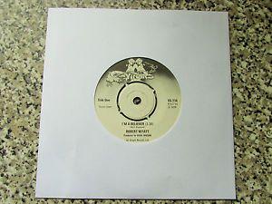 "ROBERT WYATT I'm A Believer UK 7"" VINYL SINGLE 1974 VIRGIN VS 114 | eBay"