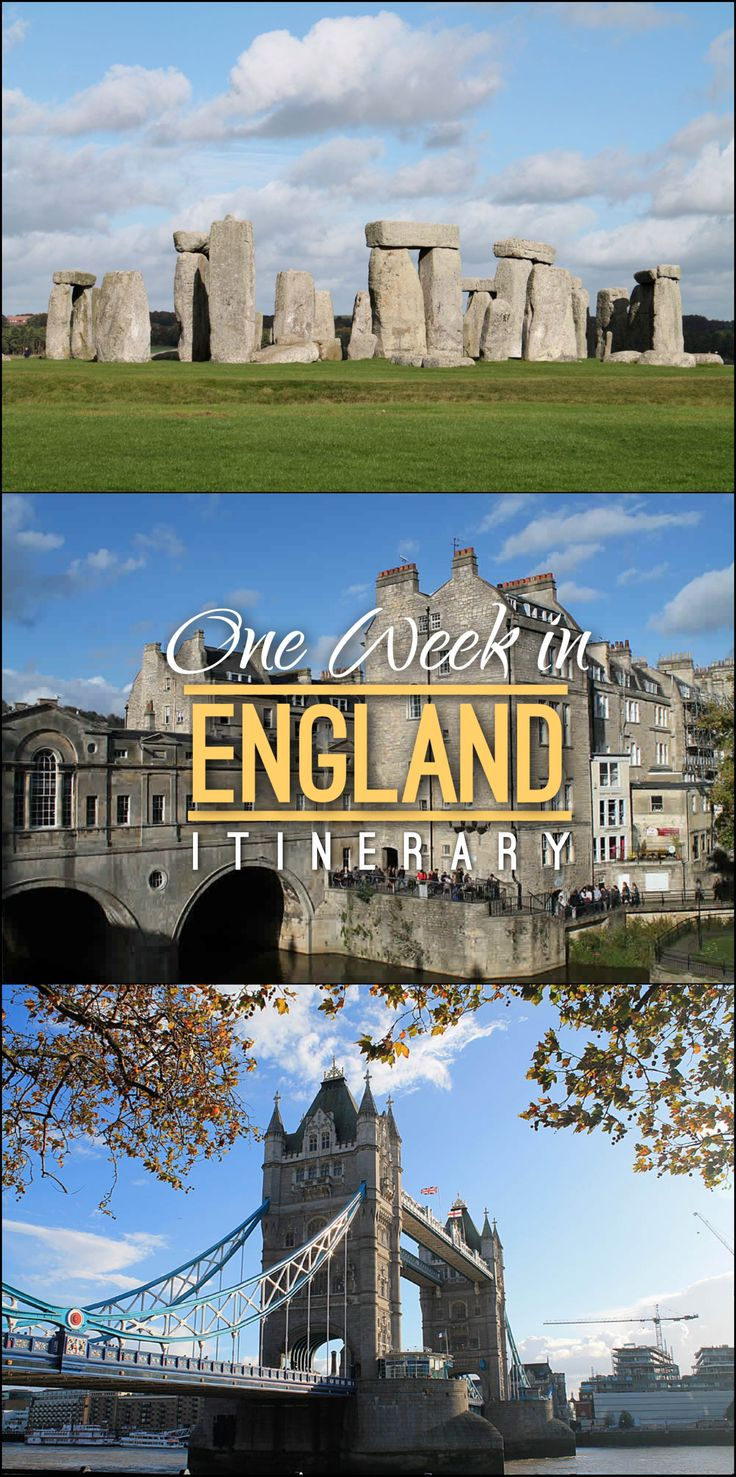 Check out our one week in England itinerary, the perfect place to start for first timers who are short on time.