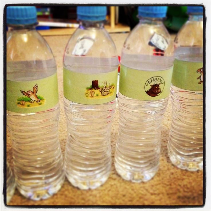#gruffalo water bottles