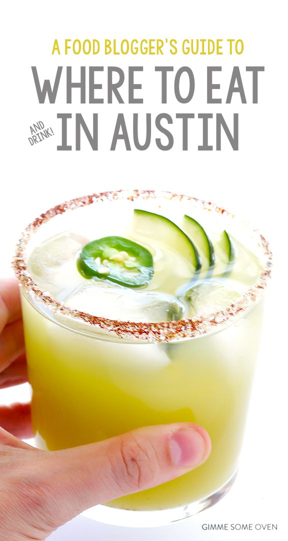 A detailed guide (and map!) to all of the best places to eat and drink in Austin, TX | gimmesomeoven.com