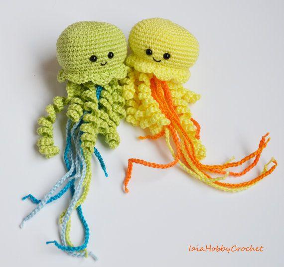 17 beste afbeeldingen over amigurumi jellyfish and octopus ...