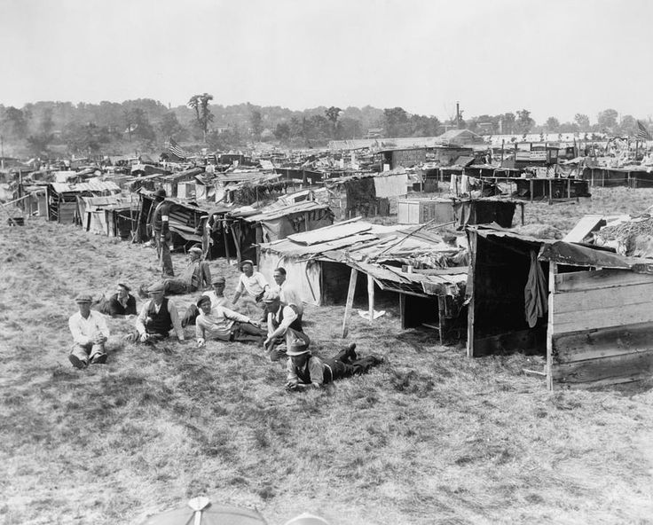 During the Great Depression people called their tent cities    Inside Hooverville Homes