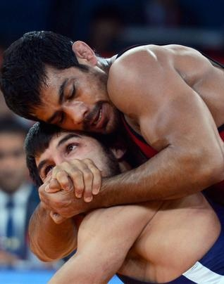 Sushil Kumar,The 5 Foot 5 Inch Tall, Wrestler From Najafgarh In Haryana Created History By Becoming The First Individual Indian To Win A Medal In Two Consecutive Olympic Games. Who Had Won A Bronze In The Beijing Olympics In 2008.