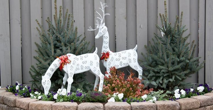 pinterest christmas decor outside decorating ideas outdoor 10588