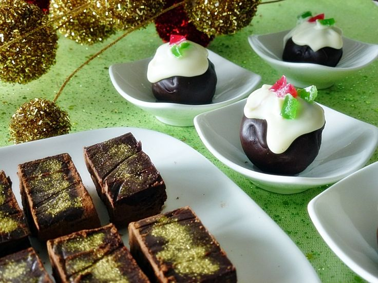 Christmas Cake and Christmas Mince Truffles