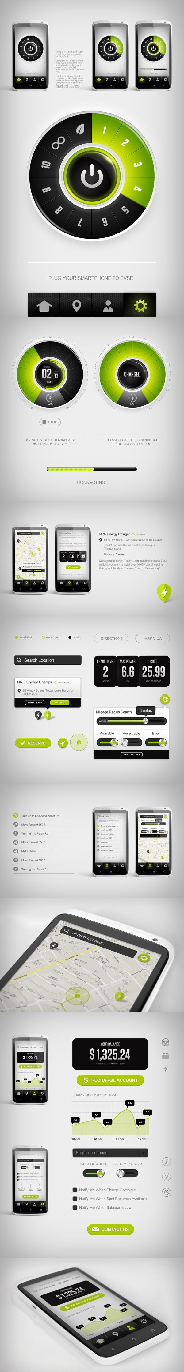 Greenlots User Interface