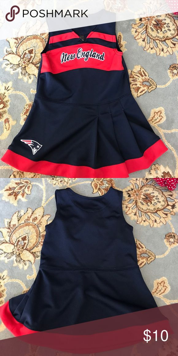 New England Patriots Cheerleader Dress. 24 months Your Super Bowl champions the New England Patriots. Size 24 months cheerleader dress. New England Patriots Dresses Casual