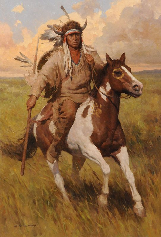 Pin by Marek on Z.S.Liang-Painter of Native Americans ...