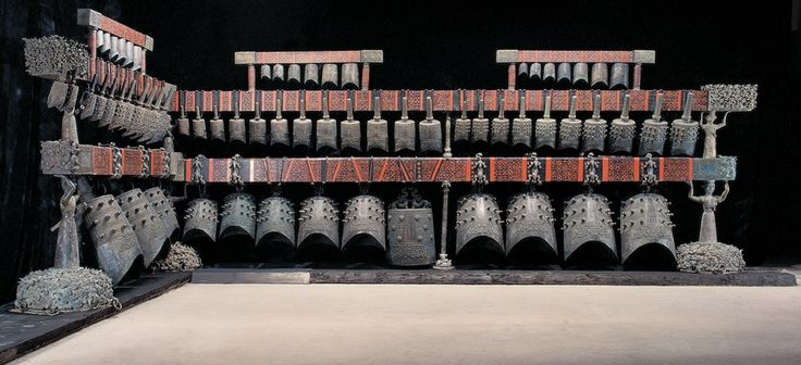 Impressive set of bells from China, the BianZhong #rareandstrangeinstruments #percussions #bells #instruments #music