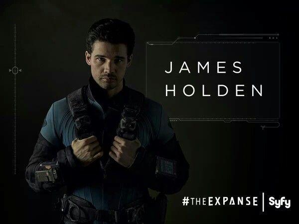 The Expanse on Syfy... New favorite hero, Holden.