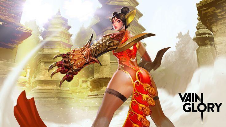 Red Lantern Koshka!!! Special update skin