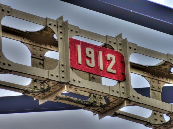 Detail of a no longer existing bridge.