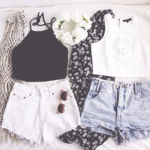 18 Cute Short Jean Spring-Summer Outfits – Top Famous Style & Fashion Design - Easy Idea (8)