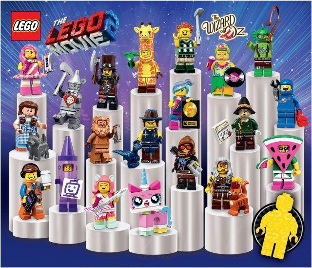 Lego Minifigures Collectable Series 18 In Stock Block Brick Boy Man