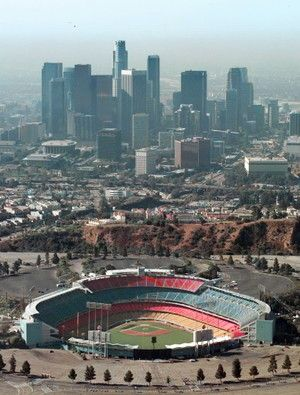 Dodger Stadium: Los Angeles, California.  Have seen way too many games with way too many friends to be specific.  Lots of great memories.  I love Dodger Stadium.