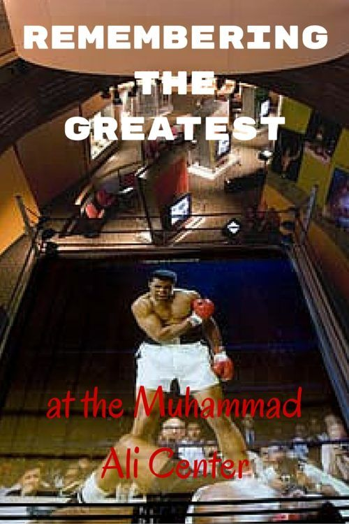 A Legend Lives On: Muhammad Ali Center