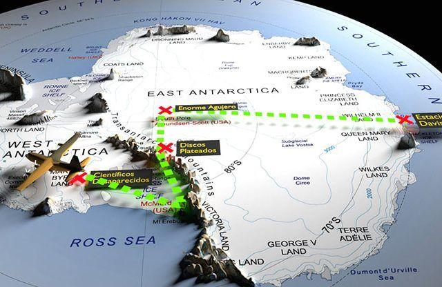 Hay más cosas en el cielo y en la Tierra ...: ¿Existe un Área 51 en la Antártida?