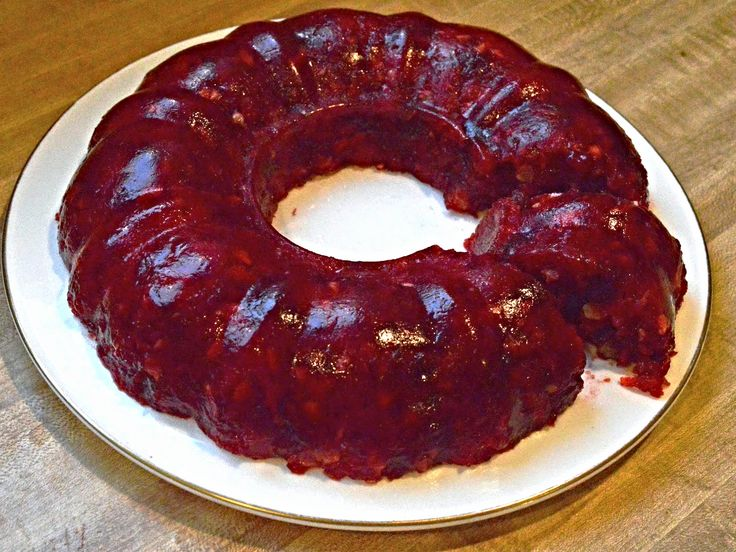 Mom's Cranberry Jello Mold
