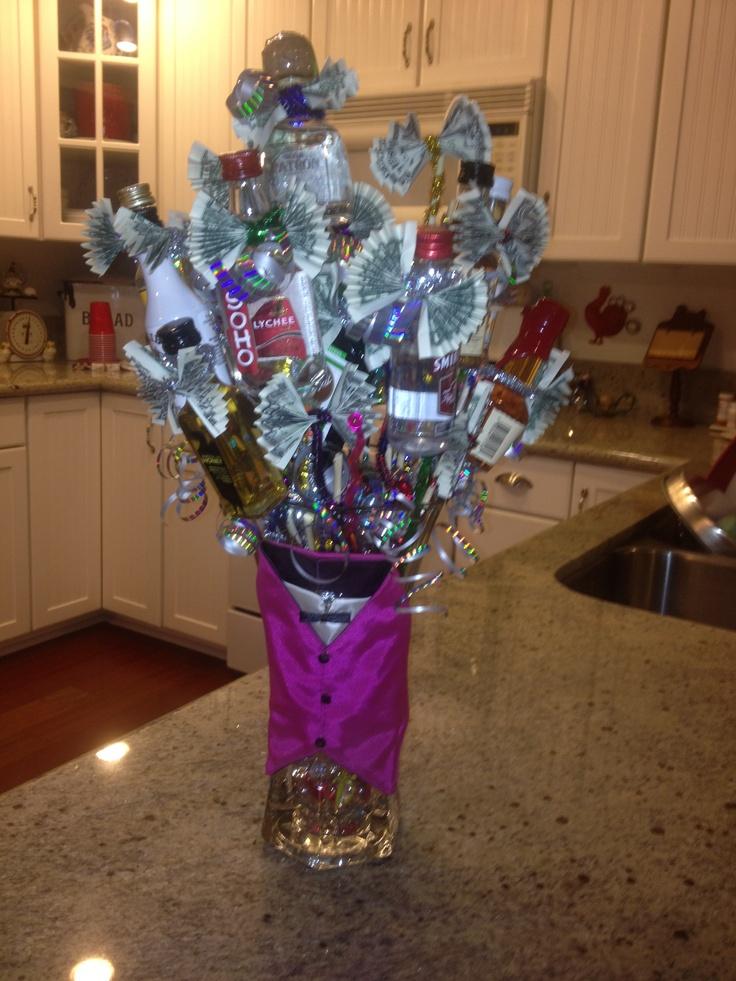 21st birthday bouquet!