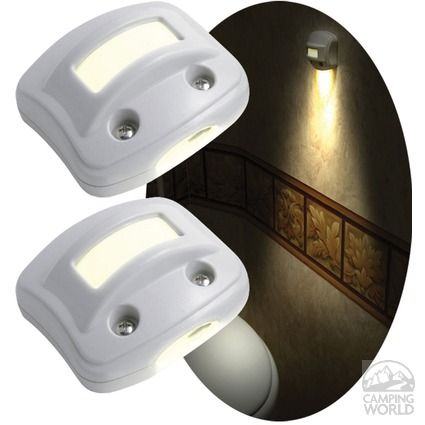 RV NightOwl Motion-Activated LED Lights - White