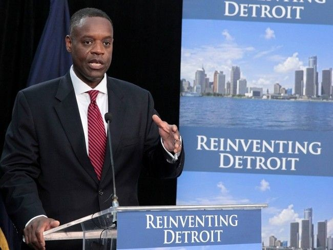 Detroit may reduce pension benefits as part of bankruptcy case