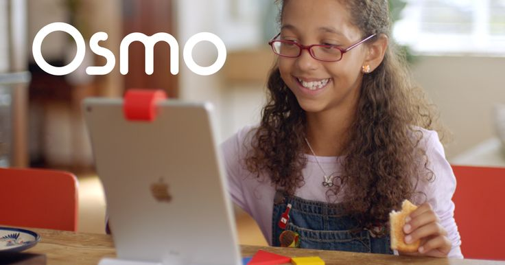 Osmo's groundbreaking system fosters social intelligence and creative thinking by opening up the iPad to the endless possibilities of physical play.