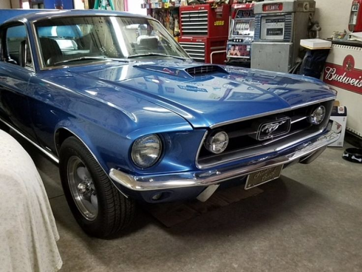 Ford Mustang Fastback S-code 390-427 sideoiler - 1967