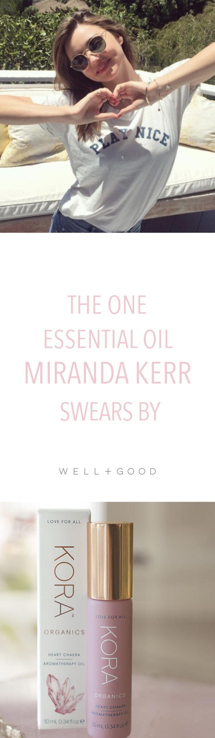 Miranda Kerr's essential-oil cure for depression.