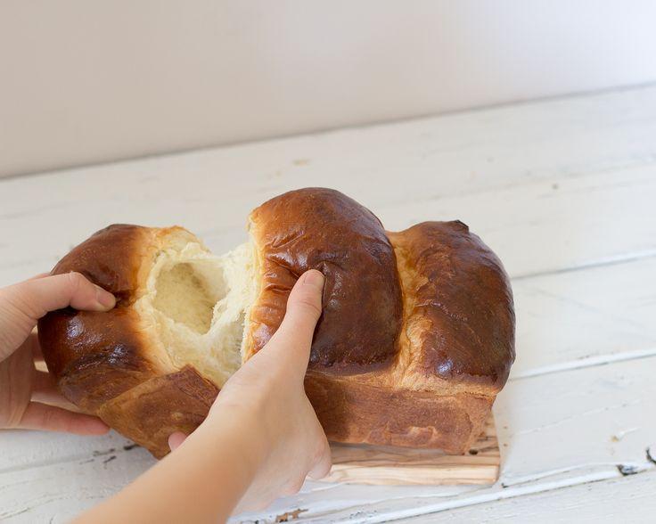 No Knead Hokkaido Milk Bread with Milk TangZhong