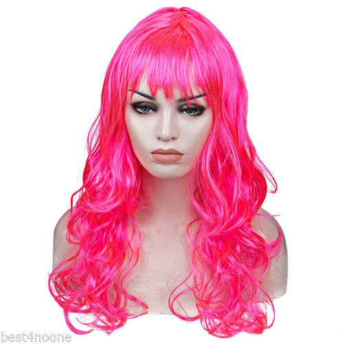 Womens-Sexy-Long-Curly-Fancy-Dress-Wigs-Cosplay-Costume-Ladies-Full-Wig-Party