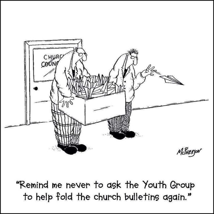 Church Bulletin Comics | Free Christian Cartoons for ... |Clean Jokes For Church Bulletins