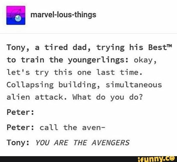 Peter Parker oneshots :) - Distraction | Avengers | Marvel funny