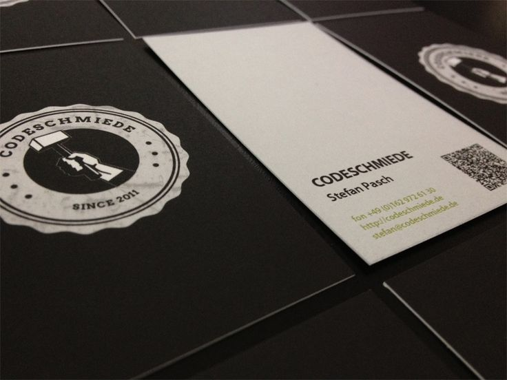 ..: Business Cards, Black And White, Qr Codes, Codeschmi Business, Business Card Design, Creative Business Card, Branding Identity, Businesscard, Card Inspiration