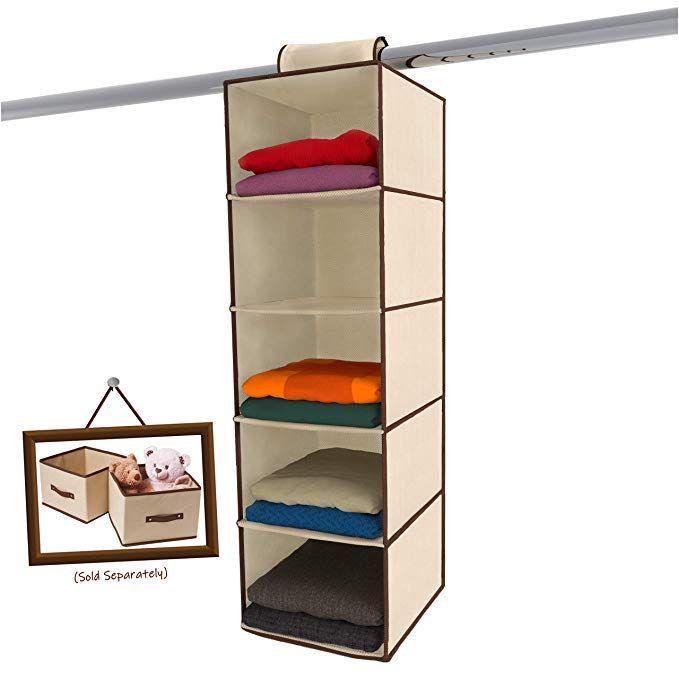 Ziz Home Hanging Closet Organizer Hanging Closet Organizer