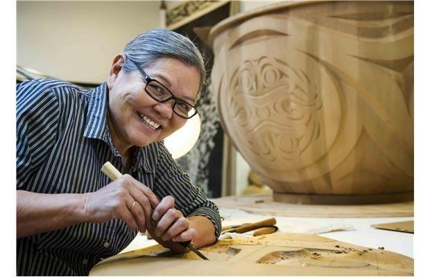 Video: High profile Vancouver native artist Susan Point