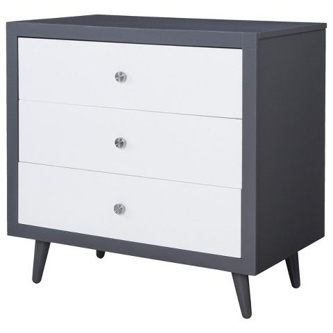 stork craft bayshore 3 drawer dresser