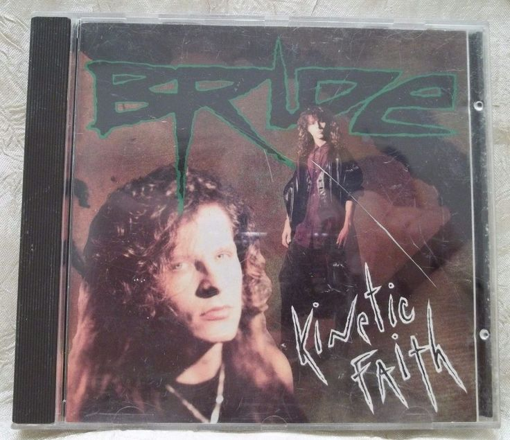 BRIDE Kinetic Faith 1991 CD CHRISTIAN METAL Pure Metal SSD 8197 #ChristianChristianMetal