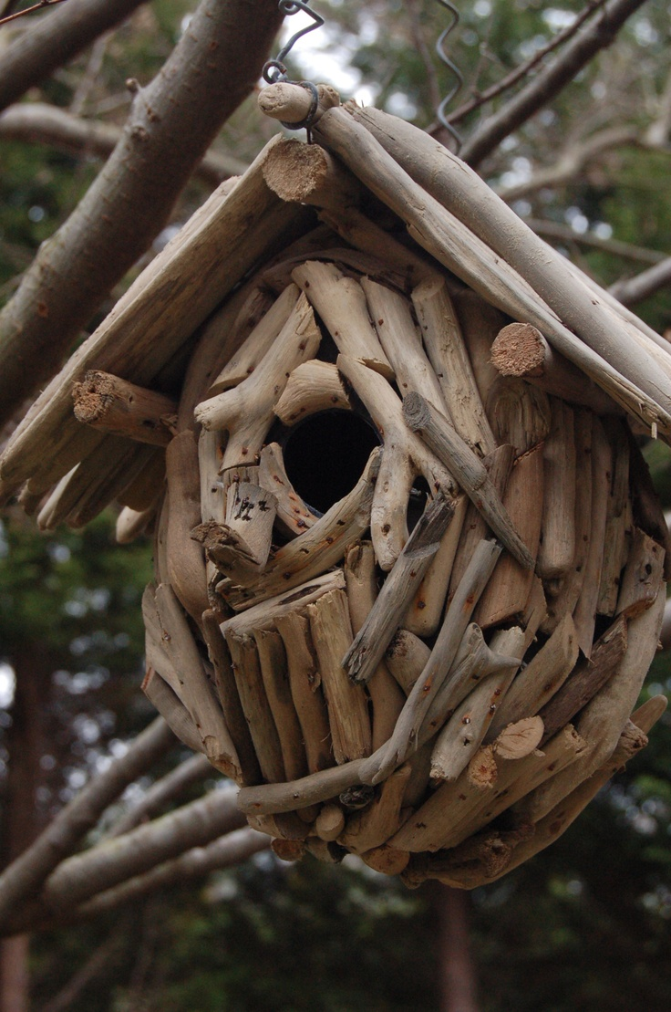 55 best images about driftwood birdhouses on pinterest. Black Bedroom Furniture Sets. Home Design Ideas