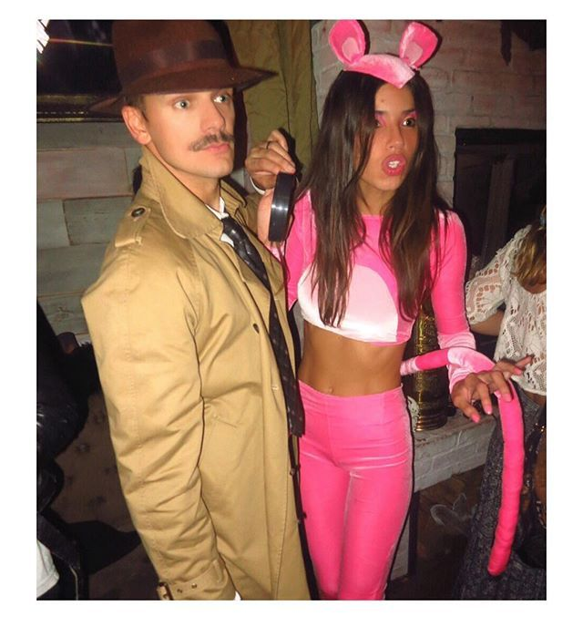 That moment when Pink Panther met the Inspector I wonder what the heck was going…